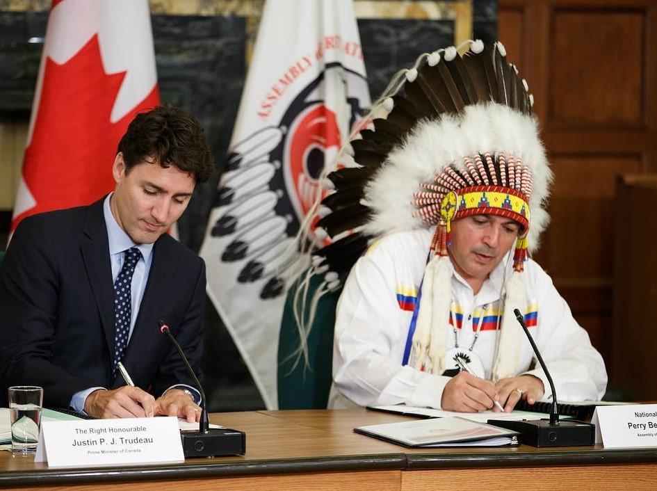 Justin Trudeau administrator photo