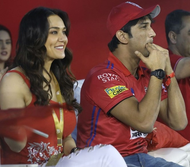 Preity Zinta cricket picture