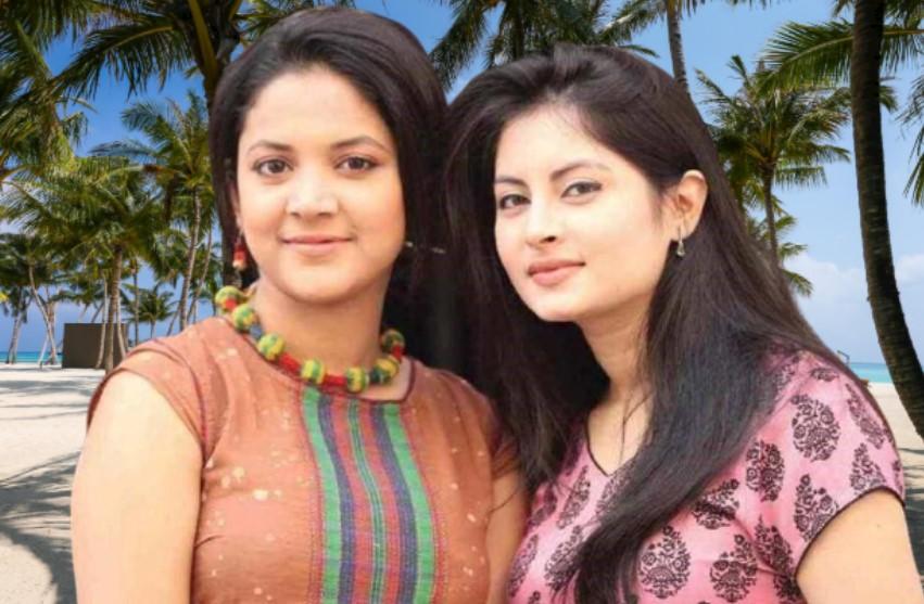 Agnila Iqbal white friend photo