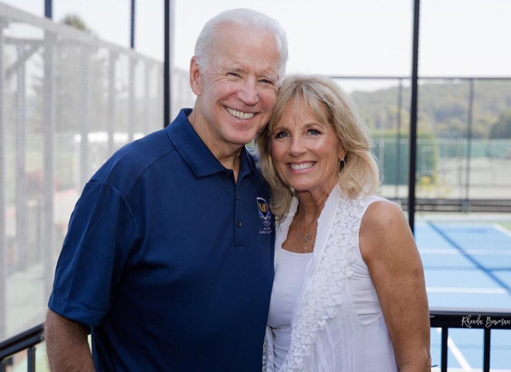 Joe Biden happy family Picture