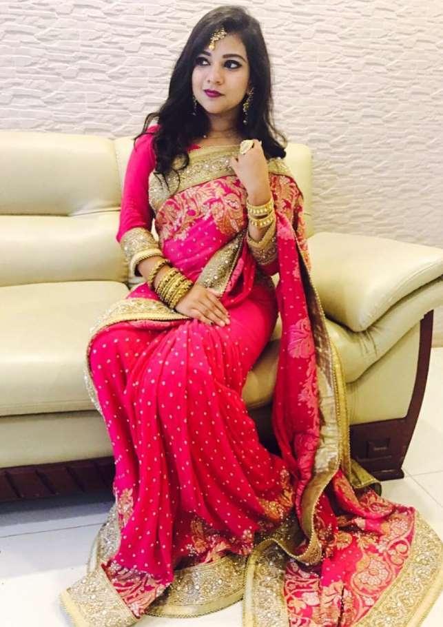 Actress Sanita Rahman Saree Will paper Photo