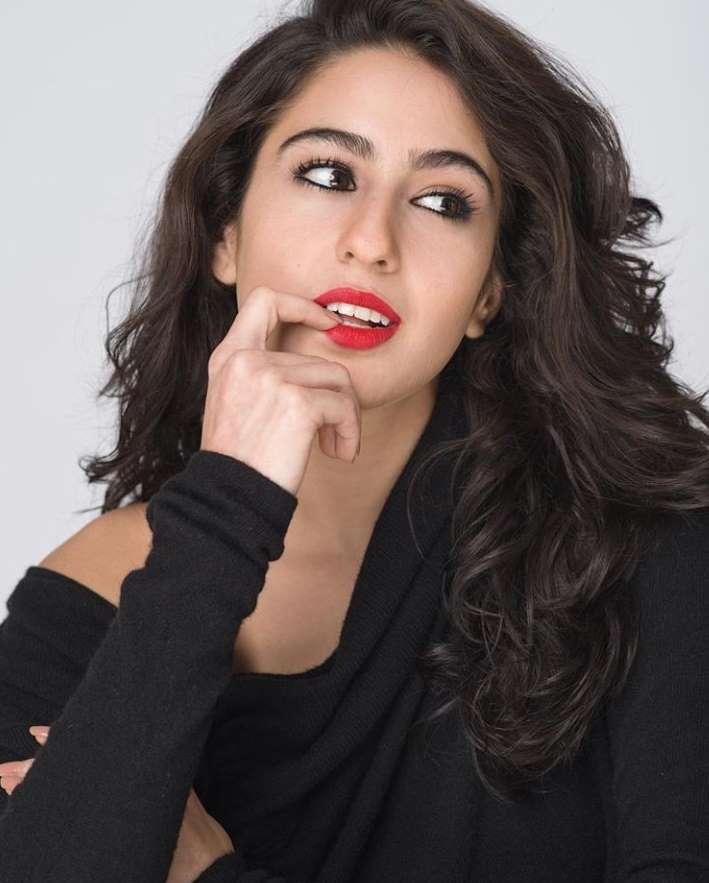 sara ali khan modeling photo
