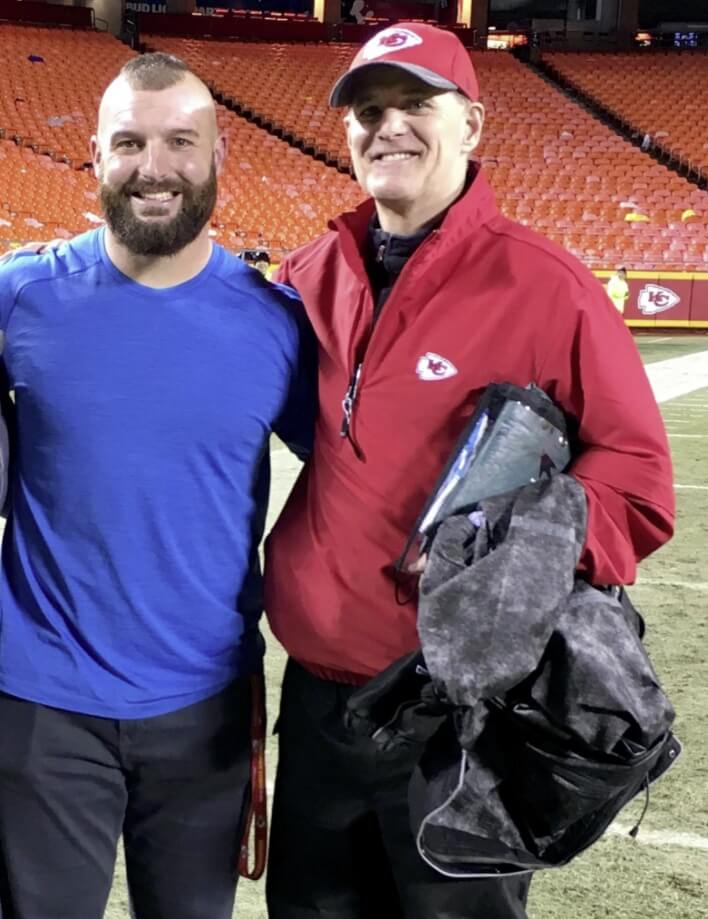 Anthony Sherman Best Friend picture