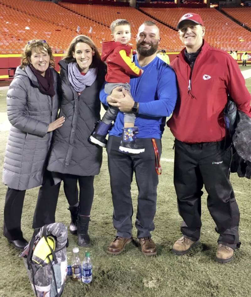 Anthony Sherman HD Family picture