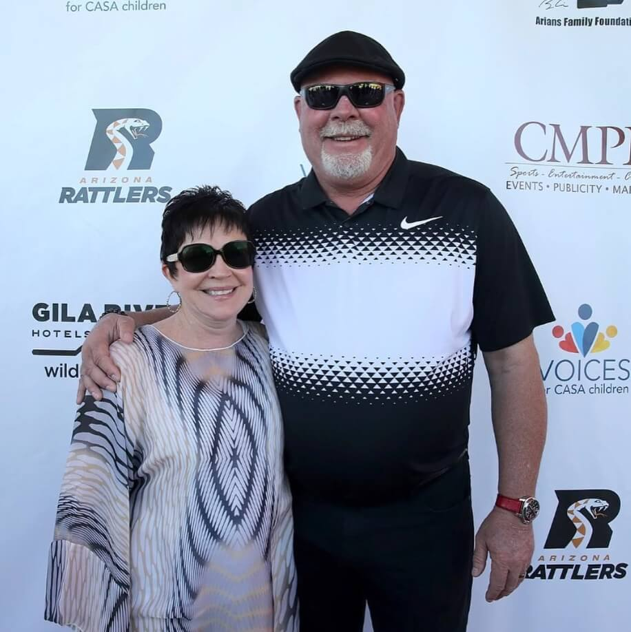 Bruce Arians Wife photo