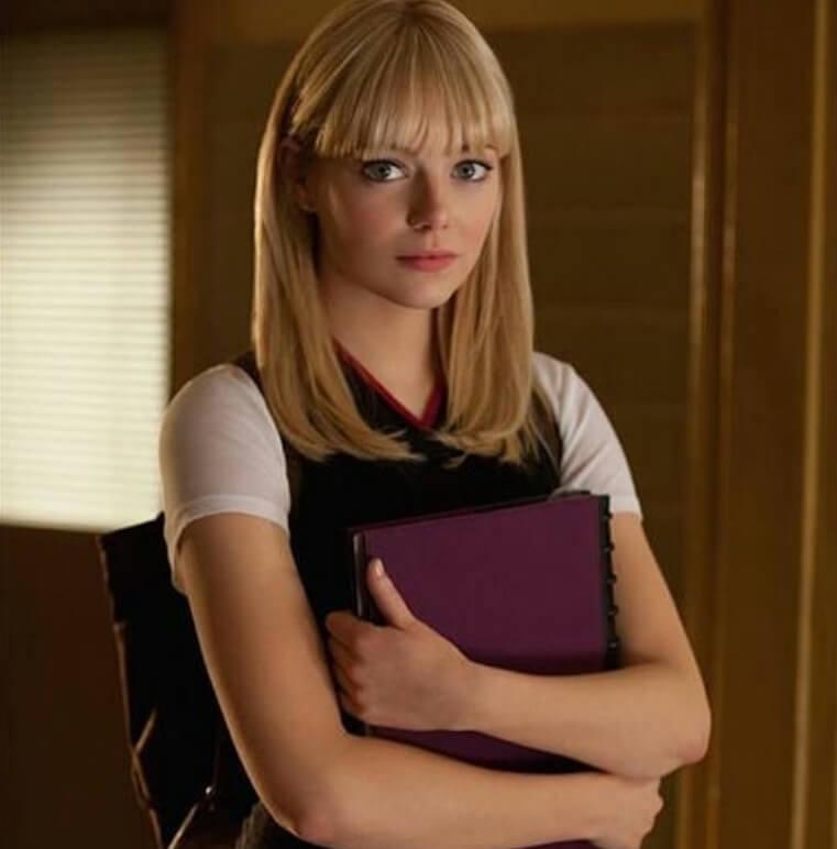 Emma Stone School picture