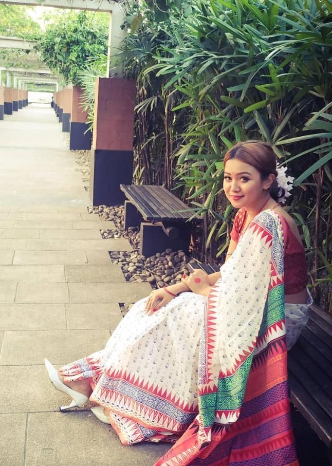 Rukaiya Jahan Chamak new Sharee image