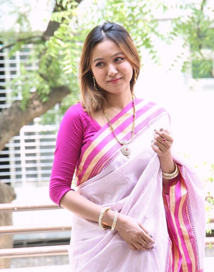 Rukaiya Jahan Chamak new Sharee pic