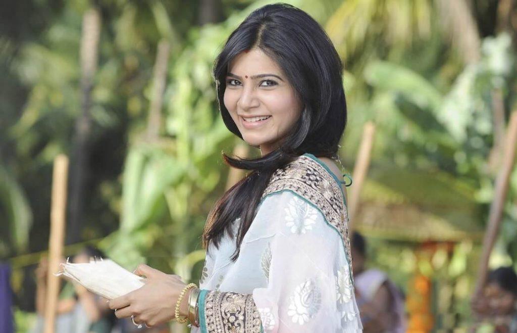 Samantha Akkineni HD Sharee Picture
