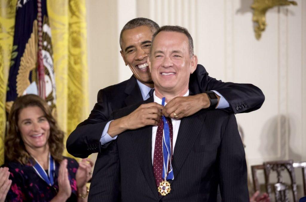 Tom Hanks Award picture