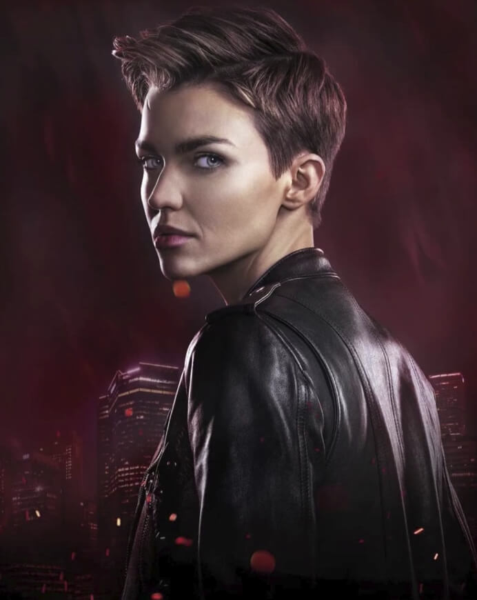 Ruby Rose luking picture